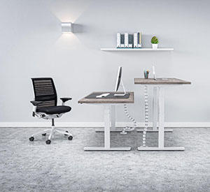 What are the benefits of a sit-stand desk?