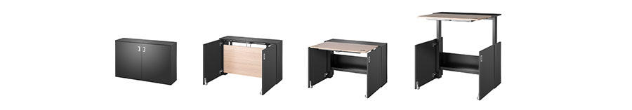 HomeFit compact desk
